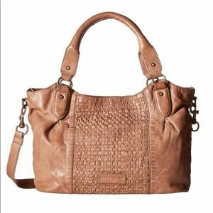 Liebeskind Dominique leather woven bag